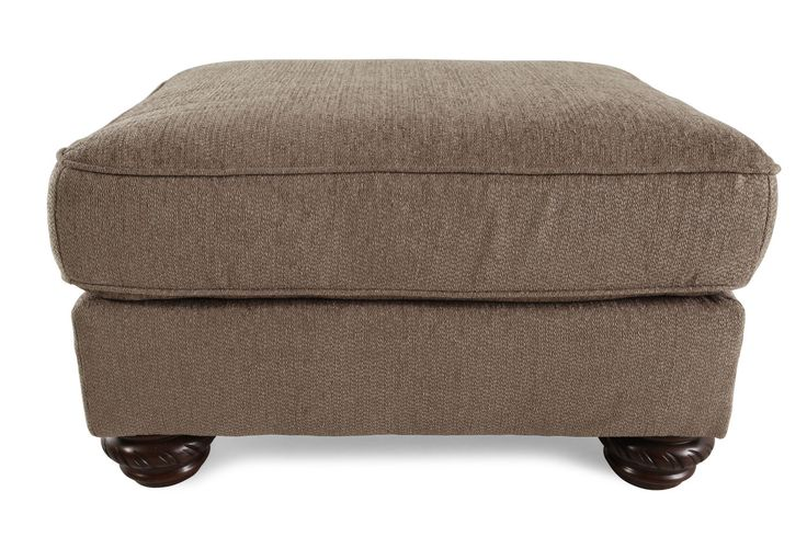 Ashley Cecilyn Cocoa Ottoman | Mathis Brothers Furniture