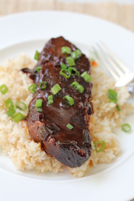 Slow Cooker Spicy Asian Beef Short Ribs ♥ Hip Foodie Mom