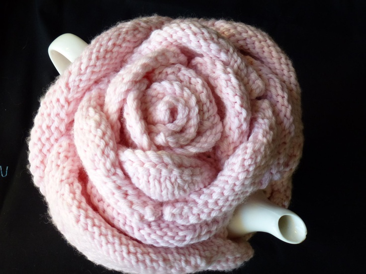 Romantic Rose Tea Cozy. Fits 4 to 6 cup teapot.. $90.00, via Etsy...this is beautiful..