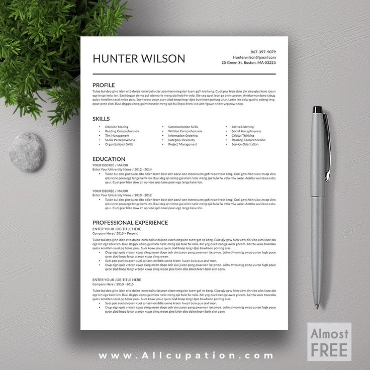Best Forms Images On   Resume Templates Cv Resume