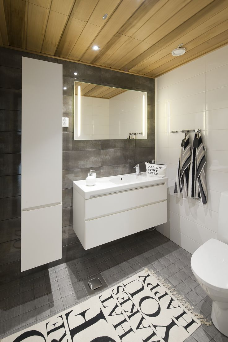 Bathroom. Honka Harmonia.