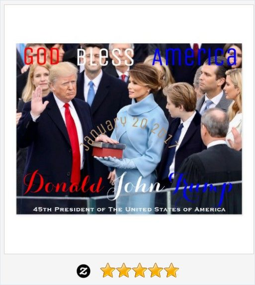 #DonaldTrump taking his Oath of Office January 20 #InaugurationDay #Trump Postcard #JustSold #ThankYou :) https://www.zazzle.com/donald_trump_taking_his_oath_of_office_january_20_postcard-239736767709576077