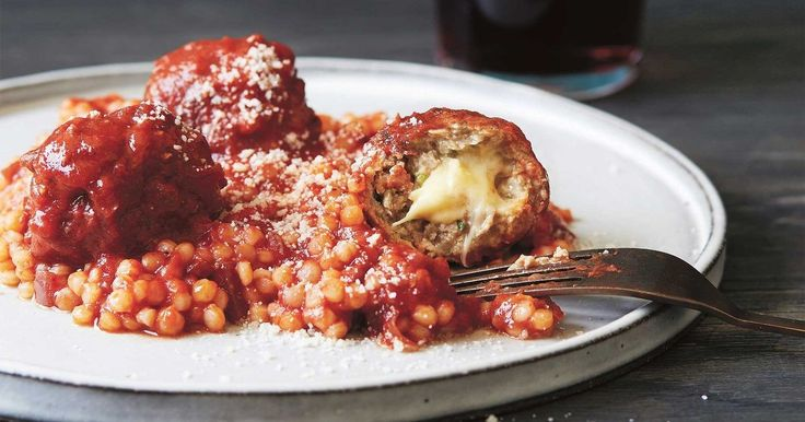 """There are meatballs and then there are cheese-stuffed meatballs! My recipe is incredibly delicious and fun to make."" - Justine Schofield"