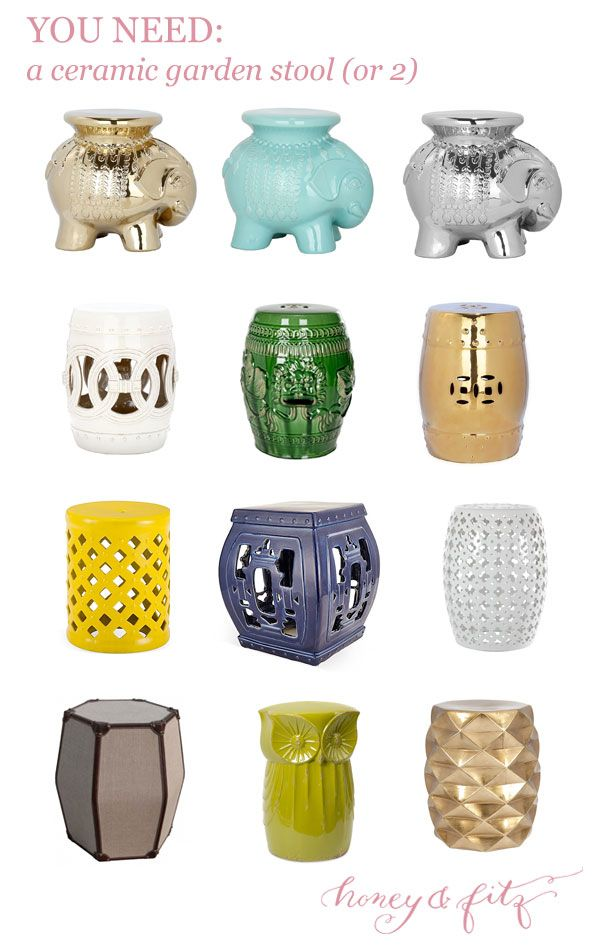 You Need A Ceramic Garden Stool