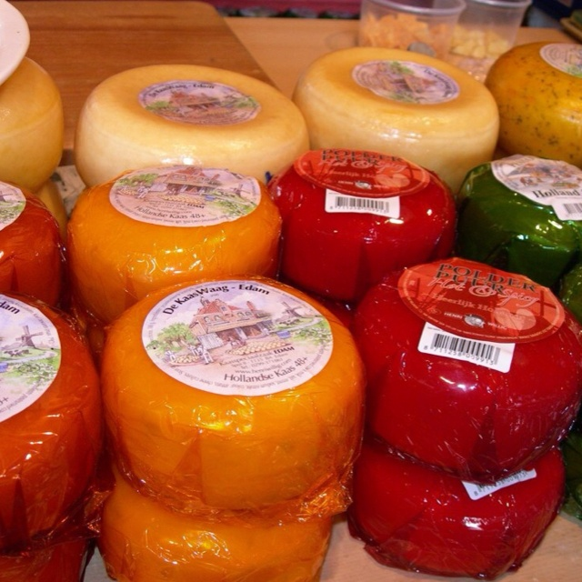 Philippine tradition to have Edam Cheese for Christmas noche buena