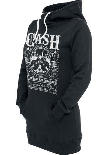 Whiskey Label - Bluza z kapturem - Johnny Cash