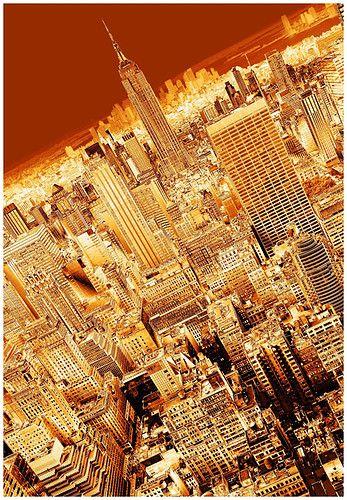 golden glow: Golden Cities, Bachelorette Parties, New York Cities, Golden Glow, Gold Cities, New York City, Newyork, Absolute Beautiful, Cities Lights