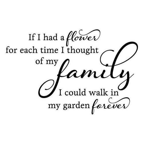 Mothers Day Time With Family Wall Sticker Vinyl Transfer Decal Decor Art Quotes