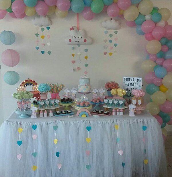 Mesa Decorada  by @lubalao ❤❤❤ #mesadecorada #feitocomamor #delicadezas #deliciousness #party #festaherois #partyideas #paodemel #paodemeldecorado #paodemelpersonalizado #festalinda #doceslindos #santoandre #docesdeluxo #docinhos #foodporn #docesfinos  #festachuvadeamor #chadebebe #festapersonalizada #yummi #lifeissweet #doceslindos #felicityconfeitaria #deusnocomandosempre🙏