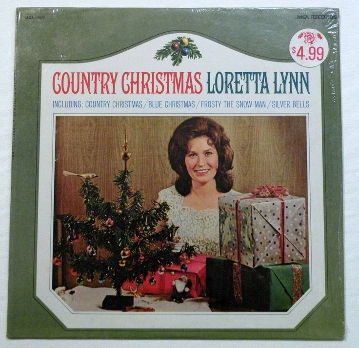 Loretta Lynn Country Christmas 1980 MCA Stereo LP MCA