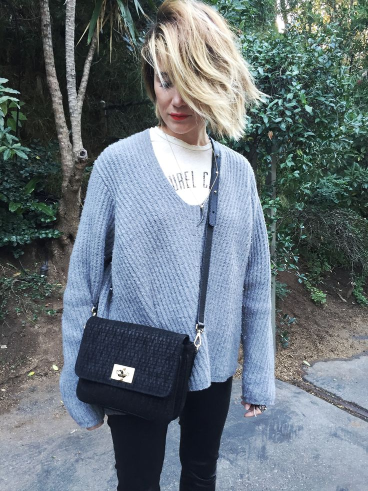 """Creative Director Cecilia Blankens spotting Blankens bag """"The Mancini"""". Soon available at www.blankens.com"""