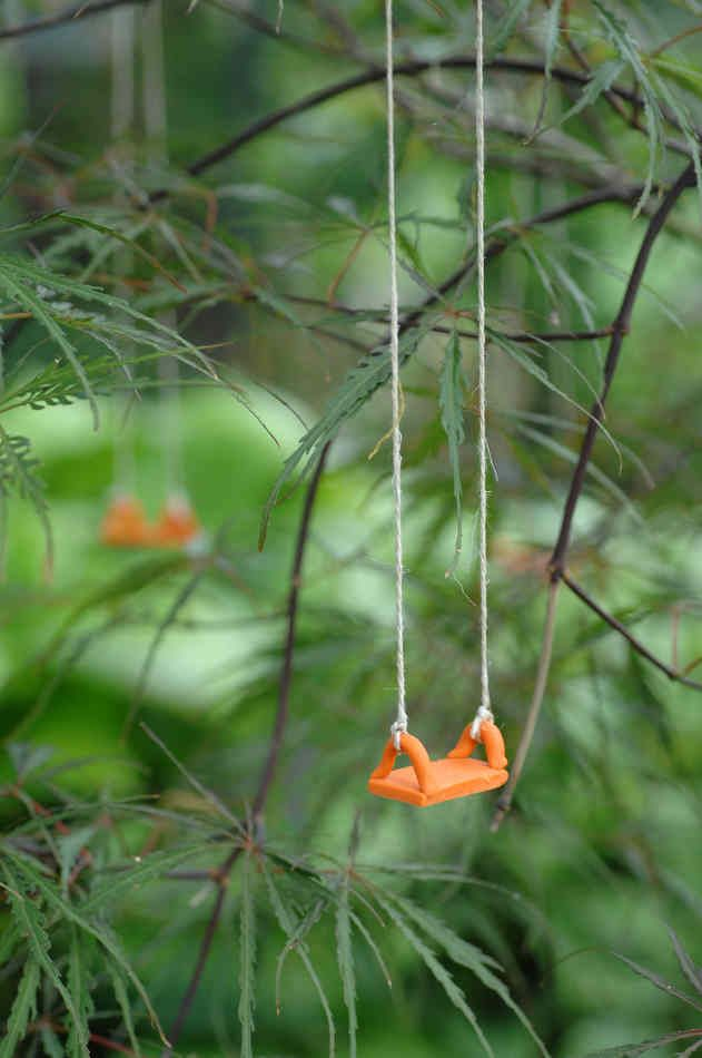 """fairy swing.... might give me some ideas on other """"magic"""" things we can put in our garden."""