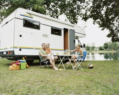 Visit camper dealers and RV parks in your area and ask whether you can leave advertisements for your services with them.