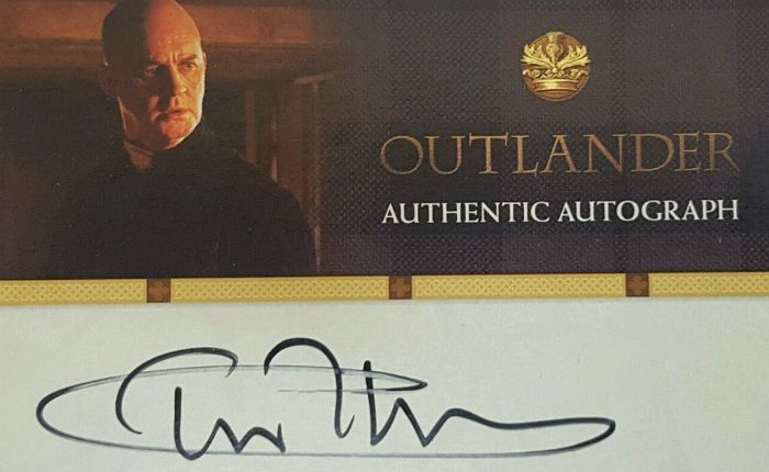 Did Tim McInnerny really sign 400 #Outlander cards that got lost in the mail?