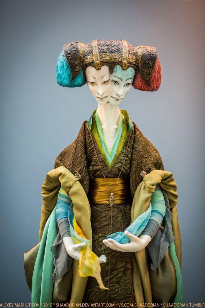 AekaDolls/ porcelain dolls by Elena Alekhina/ Collection Arcanum/ Art/ http://www.livemaster.ru/aekadoll