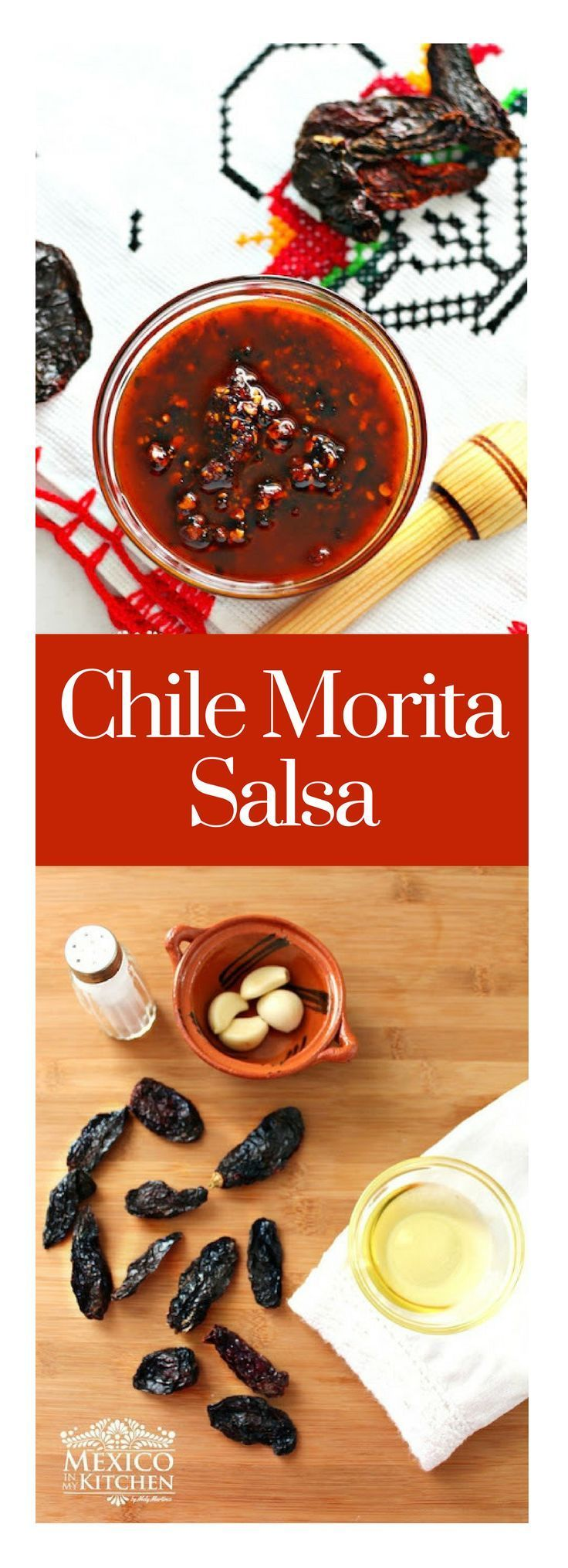 Salsa Macha is made out of dried peppers that are gently fried and then ground to form the sauce. #mexicancuisine #mexicancuisine #mexicanrecipes #salsa #chiles