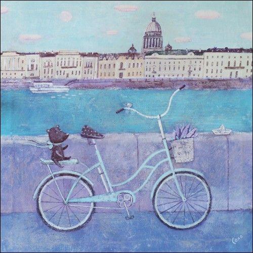 Сиреневый май - Светлана Соловьева | Магазин открыток Cardspoint.ru