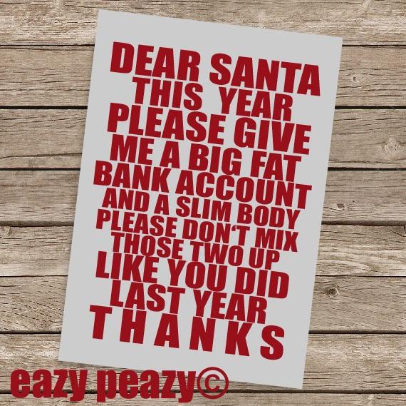 christmas card // Weihnachtskarte via DaWanda.com