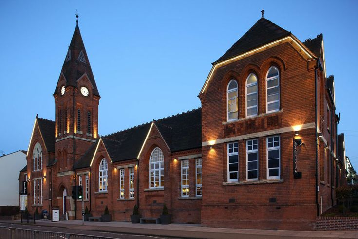 Our wonderful venue is housed in the Grade II listed School Yard complex we feel lucky to be based here