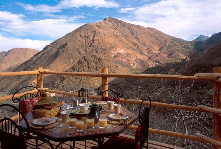 Kasbah du Toubkal - Morocco Nestled in the High...   Luxury Accommodations