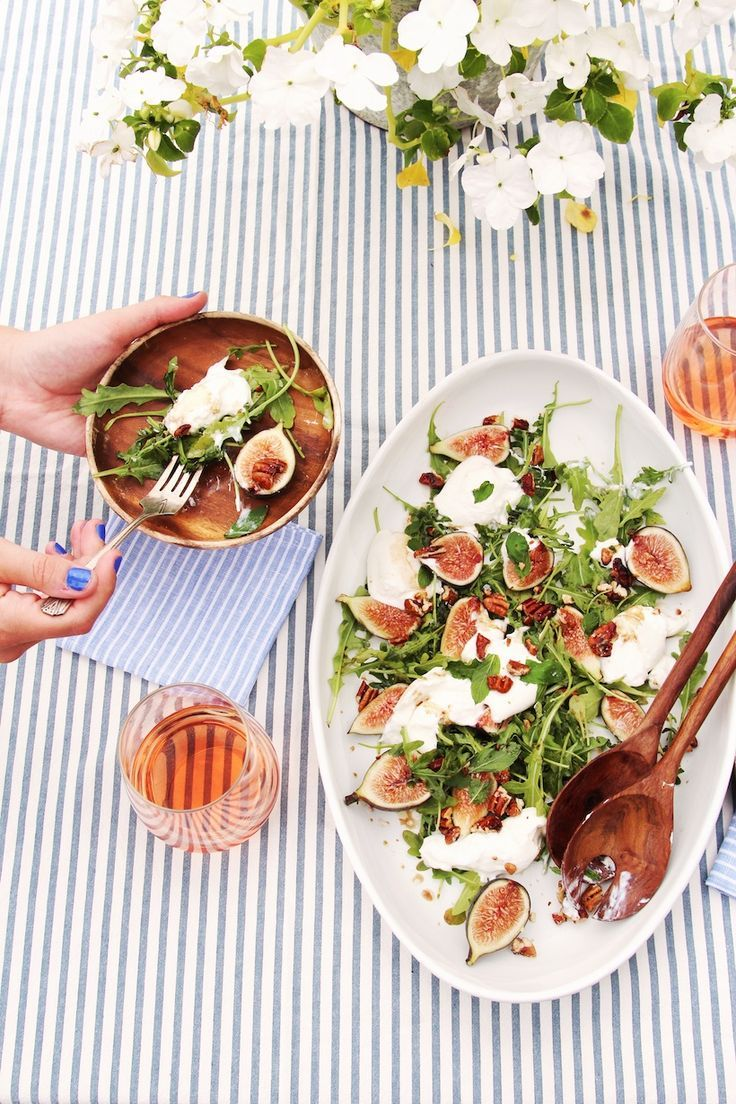 The Easiest Fig & Burrata Salad You'll Make All Summer (video!)