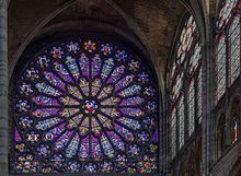 Basilica of St Denis - Wikipedia The north transept rose features the Tree of Jesse