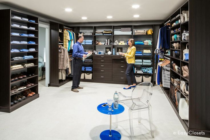 A dream walk in closet with his hers sides closet for His and hers walk in closet