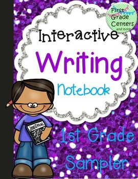 This set is a sampler of my Interactive Writing Notebook for first grade.  It contains 6 projects from the notebook.  The projects are:  Who? Doing What?Stretch the Sentence- The Dog Barked. Describe It!- CatMy Idea List- Favorite ActivitiesOpinion Writing- Should Kids Have More Homework?How to Make A Root Beer FloatIf you like this sampler, please check out the full product:Interactive Writing Notebook for First Grade