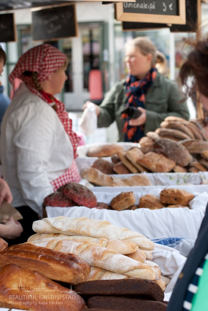 Old-fashioned Market Day 2013 Kristinestad, Finland