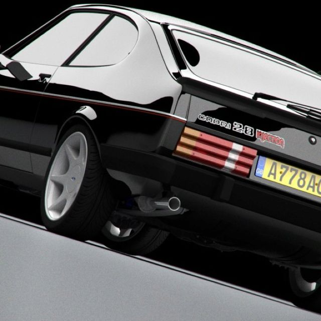 Ford Capri 2.8 Injection - this image certainly does the rounds, but why not, its an ace pic!