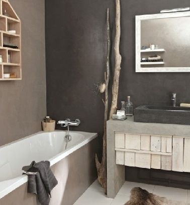 8 id es d 39 am nagement de petite salle de bain bathroom inspiration and ikea hack - Zen terras deco idee ...