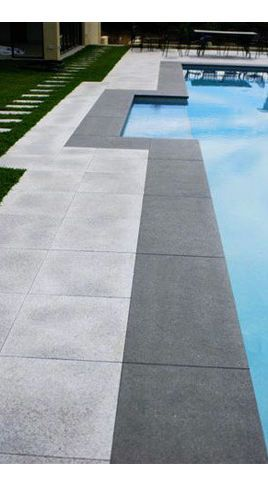 Two toned pool pavers Swimming Pools And Spas - page 2