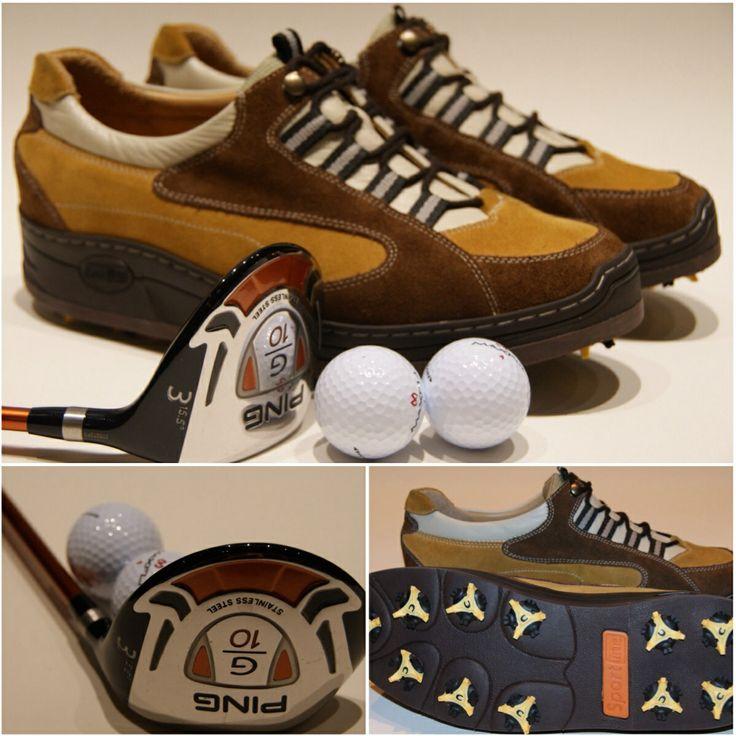 Ook golfschoenen kunnen maken.  Kleur, model: u mag het zeggen!