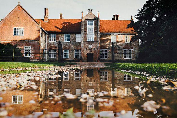 Bruisyard Hall wedding venue in Suffolk