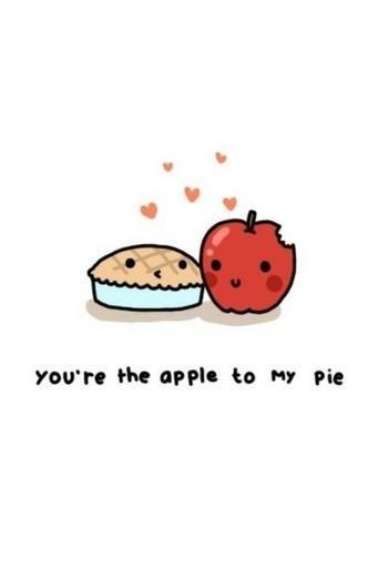 You're the straw to my berry:) We're the perfect two<3
