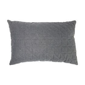 Holmen Quilted Cushion Charcoal