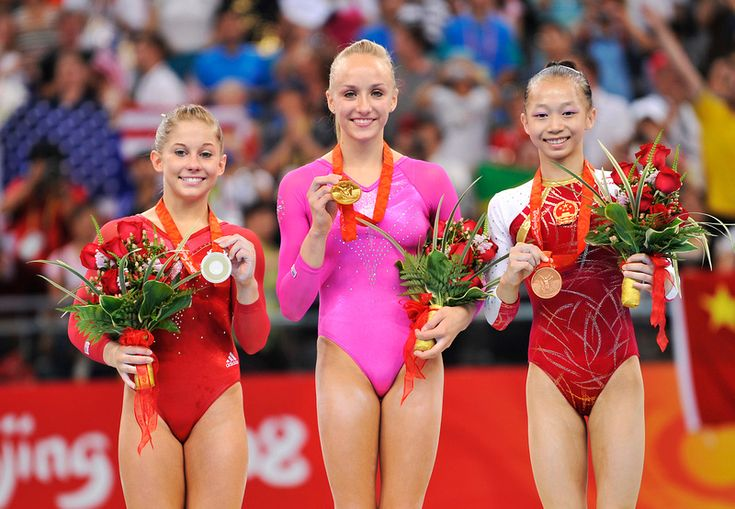Olympic Games 2008: Nastia LIUKIN, Shawn JOHNSON, Yilin YANG
