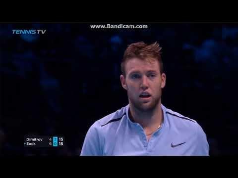 MITAKKA Sport :): Grigor Dimitrov vs Jack Sock on ATP Finals 2017!