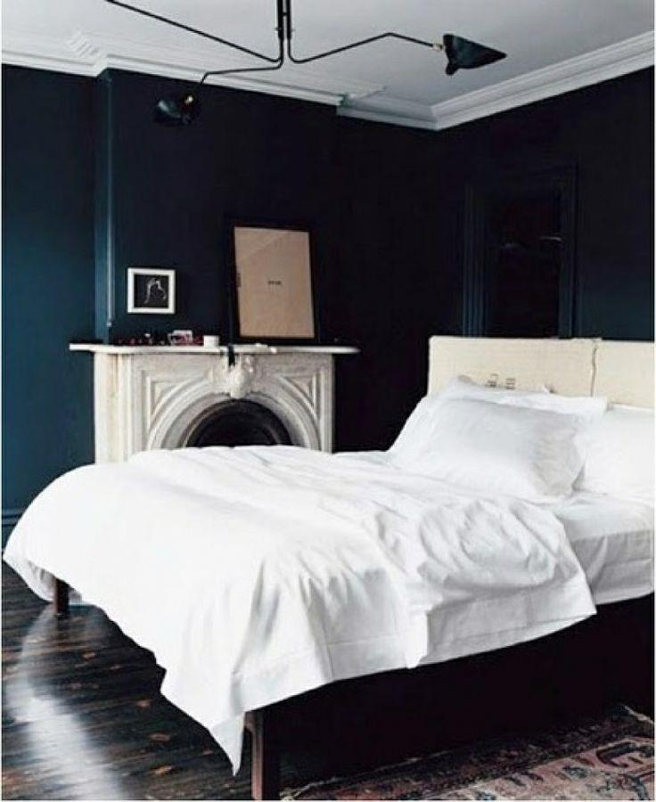 Dark Blue And Black Bedroom 214 best dark blue walls images on pinterest   dark blue walls