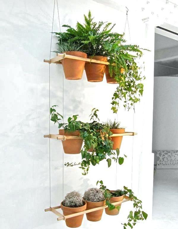 Terracotta Clay Pot For Garden Succulent Cactus Flower Plants Window Hanging Pot