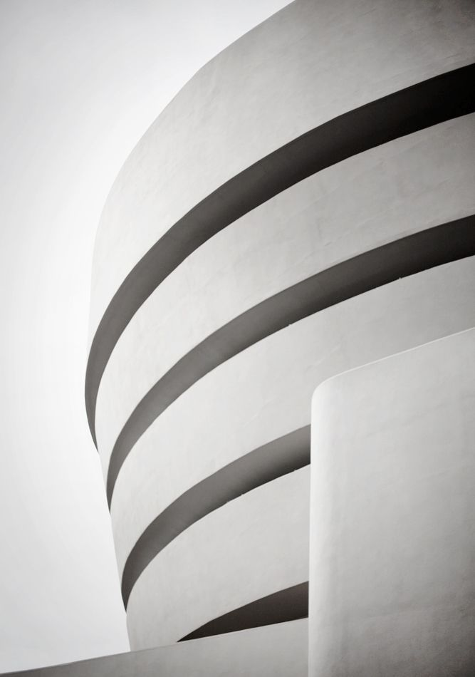 The guggenheim New York. A truly beautiful building.