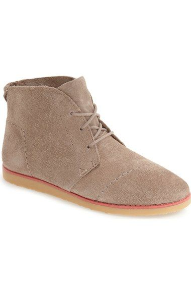 TOMS 'Mateo' Chukka Boot (Women) available at #Nordstrom