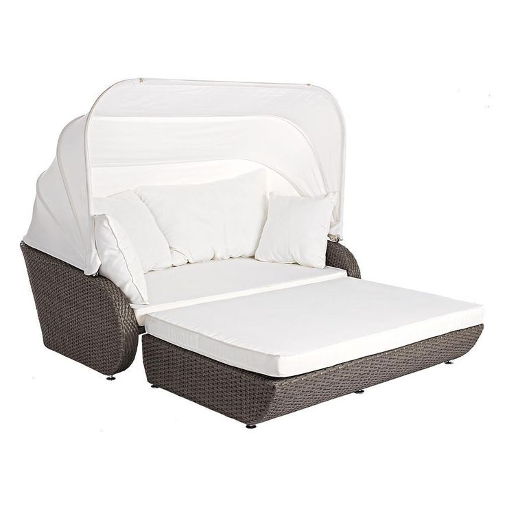 BIZZOTTO u0027GIOVEu0027 DAYBED RELAXINSEL LOUNGE KOMPLETT POLYRATTAN