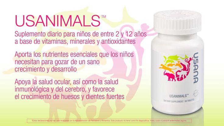 Usanimals: el producto para niños de USANA sandrairapuato.usana.com