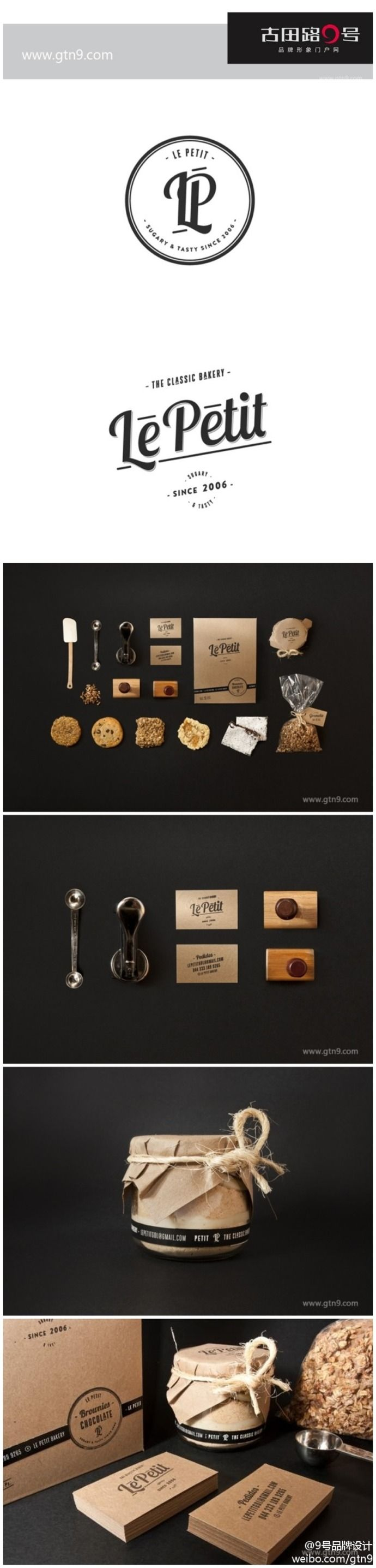 identity / Le Petit Bakery | #stationary #corporate #design #corporatedesign #identity #branding #marketing < repinned by www.BlickeDeeler.de | Take a look at www.LogoGestaltung-Hamburg.de