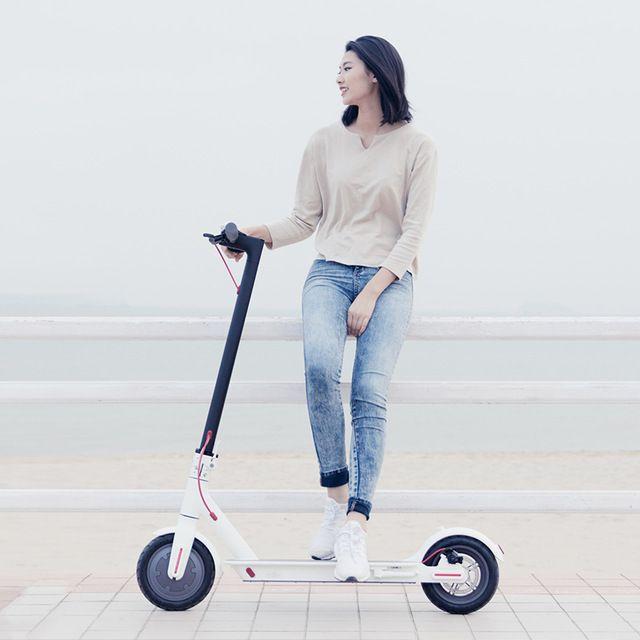 Original XiaoMi Mijia Smart Electric scooter Battery Electric Skate Adult Foldable bike Mini Motor Scooter Steering-wheel