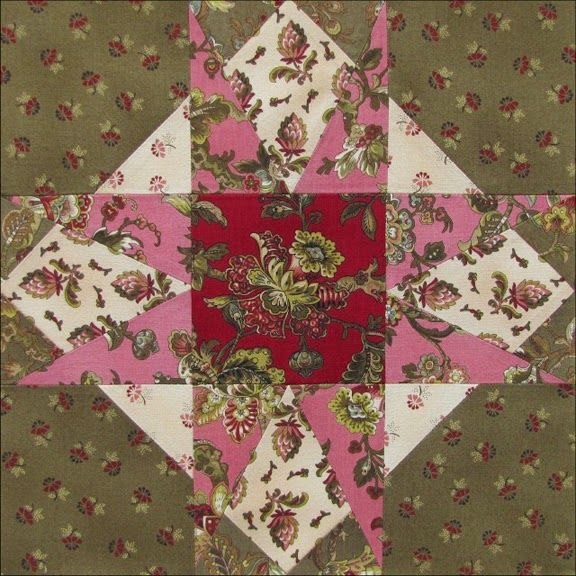 Civil War Quilts: Threads of Memory 8: Jacksonville Star for Emily Logan