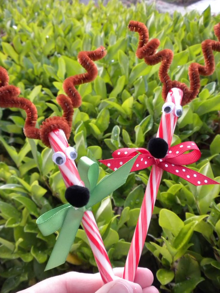 KinderJam - Music, Movement, Learning, and Fun!: Craft Jam: Candy Cane Reindeer