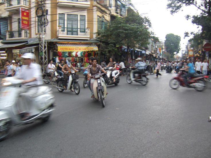 Hanoi, Vietnam Traffic | Flickr - Photo Sharing!
