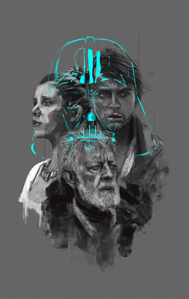 Star Wars Generations - Created by Rafal Rola                                                                                                                                                                                 More